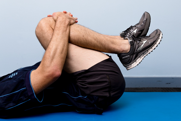 Gluteal Stretch With Rotation